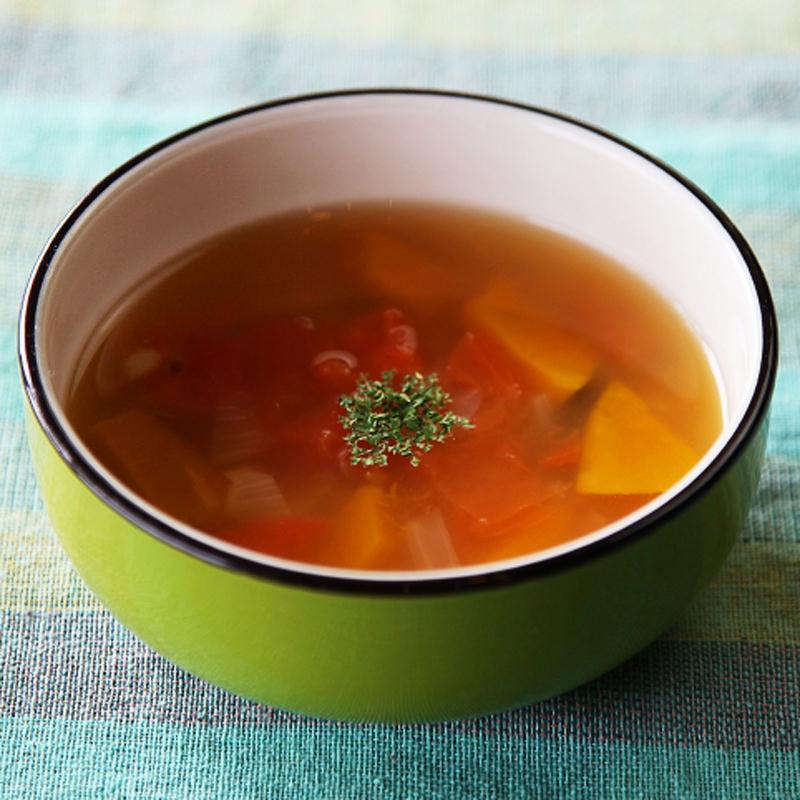 あかもくと国産野菜のブイヨン 4袋セット〔80g×4袋(スープ約128杯分)〕