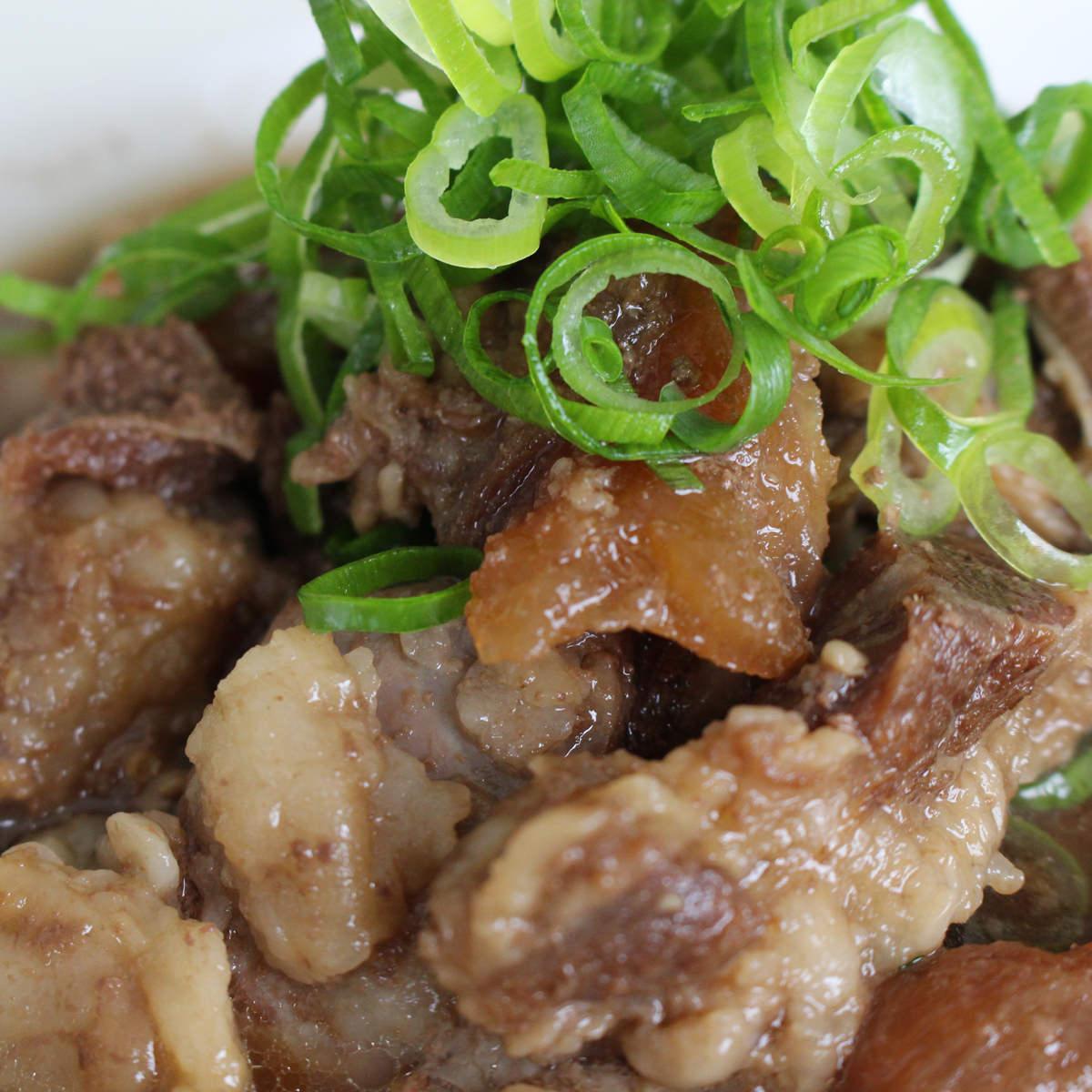 大阪の味ゆうぜん 国産牛すじ肉で職人がつくりあげた絶品 牛すじ煮込み〔150g×6〕
