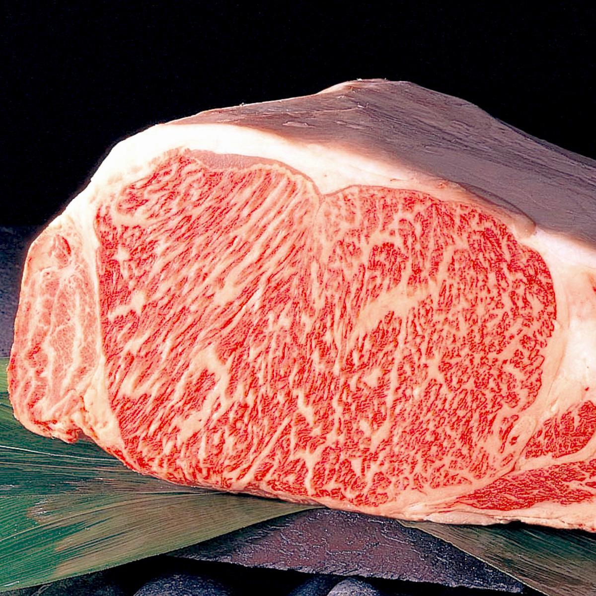 山形農業協同組合 冷蔵 山形牛ステーキ 霜降りロース 340g〔170g×2枚〕