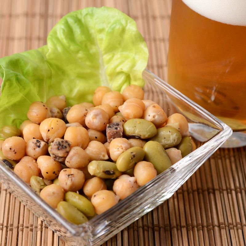 カネハツ食品 手づくりの美味しさ ニッポンのおふくろの味 おつまみ豆セット〔70g×6〕