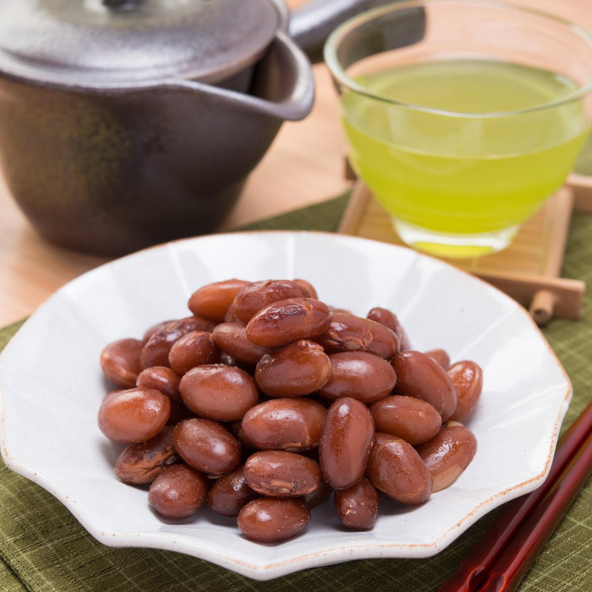 カネハツ 北海道産 大正金時豆100% 煮豆 お茶うけきんとき〔100g×4〕