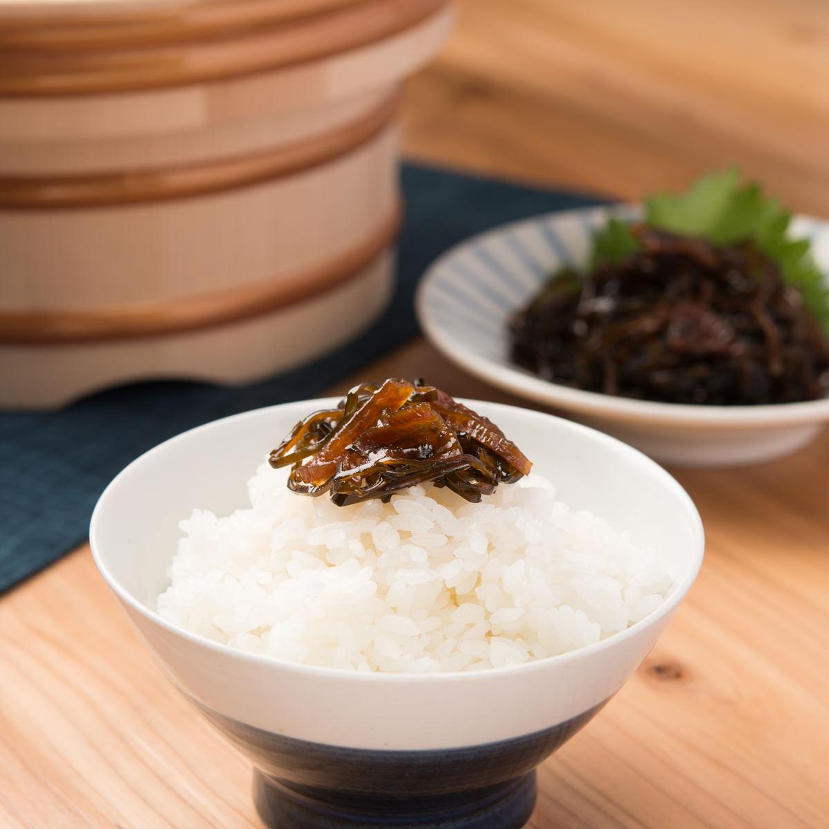 カネハツ食品 北海道産昆布 磯のうたげ つぼ漬昆布 5袋セット〔100g×5〕