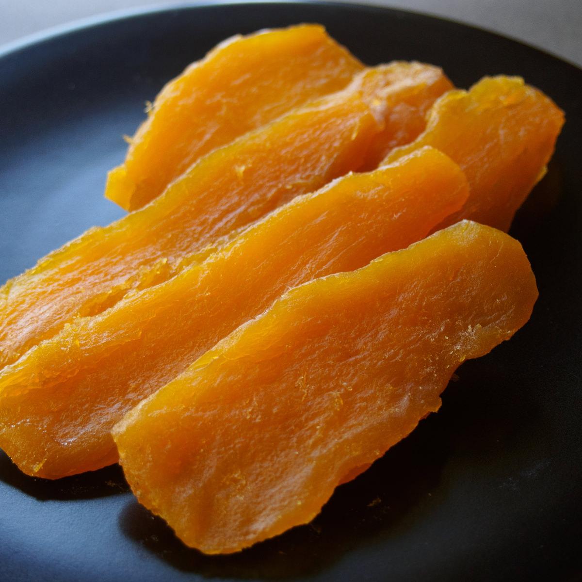 サラダファイブ お試しセット もっちり干し芋 平切り 紅はるか 茨城県ひたちなか産 520g〔130g×4〕