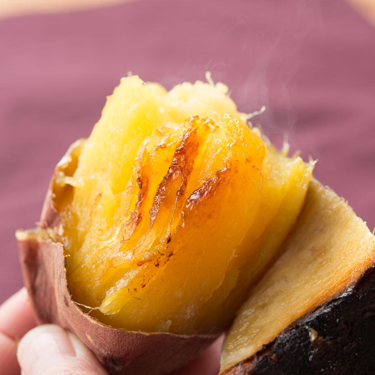 サラダファイブ 濃い甘みとなめらか食感 茨城県産 ブランド紅はるか(紅ゆうか)生芋 Mサイズ〔5kg〕