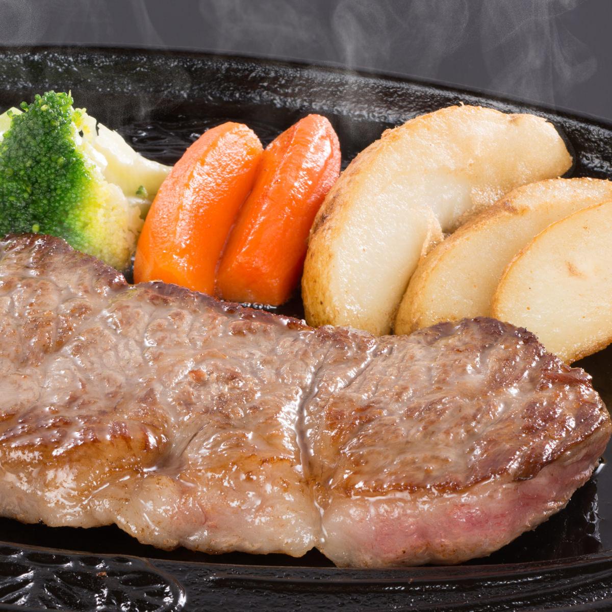 松阪まるよし 松阪牛サーロインステーキ〔200g×2枚、牛脂、ステーキ用調味料20g〕三重県