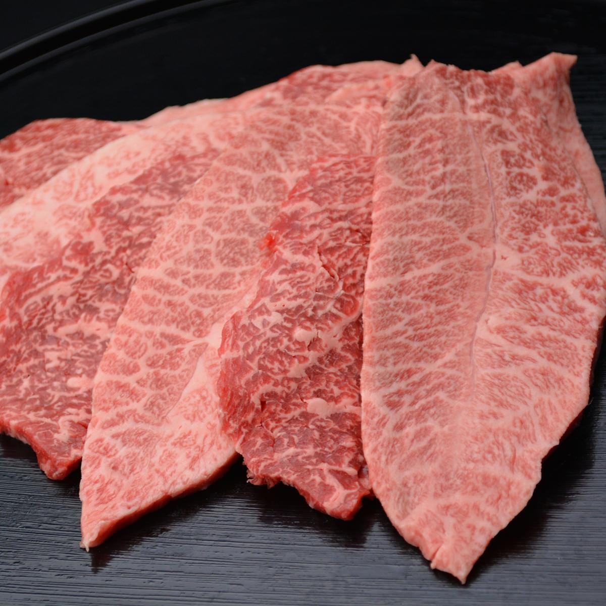 松阪まるよし 松阪牛焼肉用スライス肉 〔肩・モモ・バラ400g〕三重県