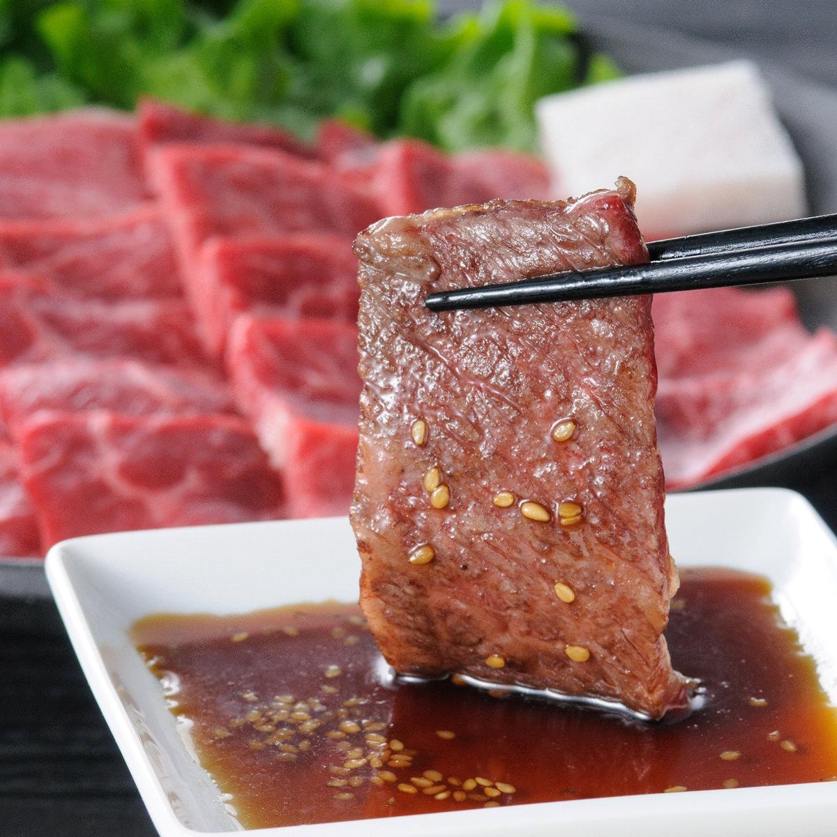 高橋畜産食肉 ブランド和牛 山形牛焼き肉セット 3種盛り550g〔バラ200g・モモまたは肩肉200g・ロース150g〕