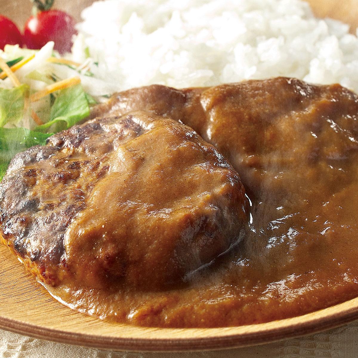 蔵王牛ハンバーグの煮込みカレー