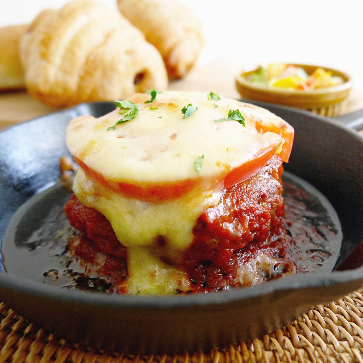 蔵王牛トマト煮込みハンバーグ