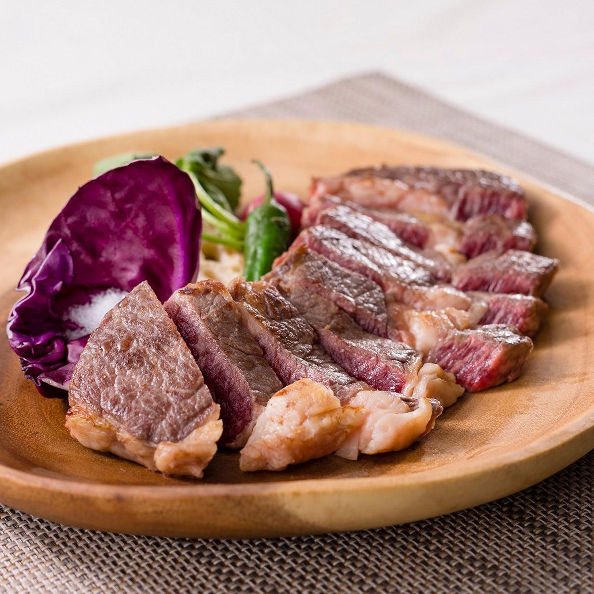 発酵熟成肉ステーキ チャックアイロール (US産牛肩ロース) 〔200g×2〕岡山県 石井食品