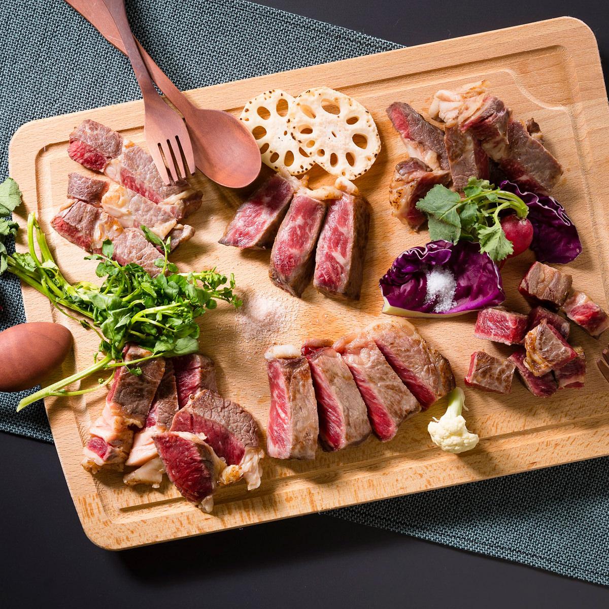 発酵熟成肉 黒毛和牛肩ロースステーキ400g 〔和牛肩ロース200g×2、岩塩1g×2、ピンク岩塩1g×2〕 牛肉
