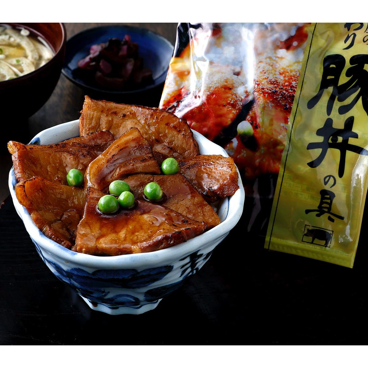 北海道産豚肉100% こだわり十勝豚丼の具6袋セット〔135g×6〕