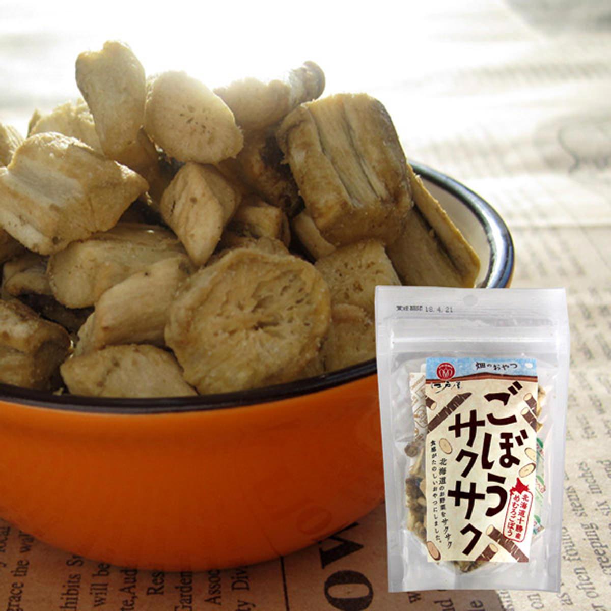 ごぼうサクサク 4個入り 〔23g×4〕 北海道 スナック菓子 江戸屋