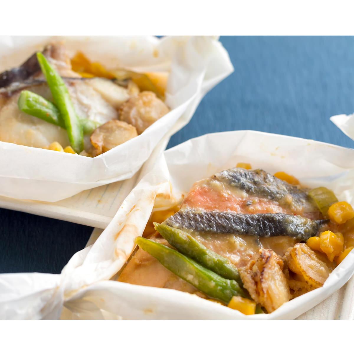 北の温もり ちゃんちゃん焼き6食 〔ちゃんちゃん焼き(鮭)100g×4、ちゃんちゃん焼き(鱈)100g×2〕 北海道 郷土料理 惣菜