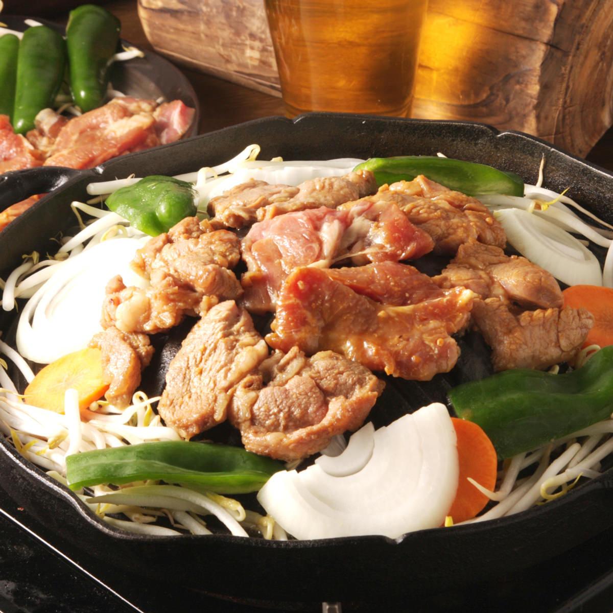 ジンギスカン セット 〔味付ラムジンギスカン(肩ロース)醤油味200g×2・味噌味200g×1〕 北海道名物 肉料理