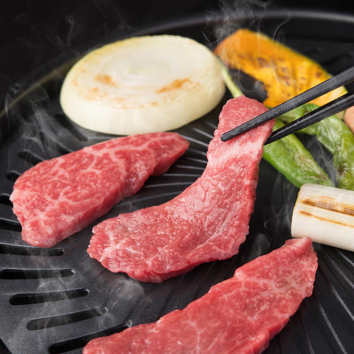 知多牛お試し焼肉セット 2〜3人前〔カルビ、肩ロース 各200g〕愛知県 タケシタミート