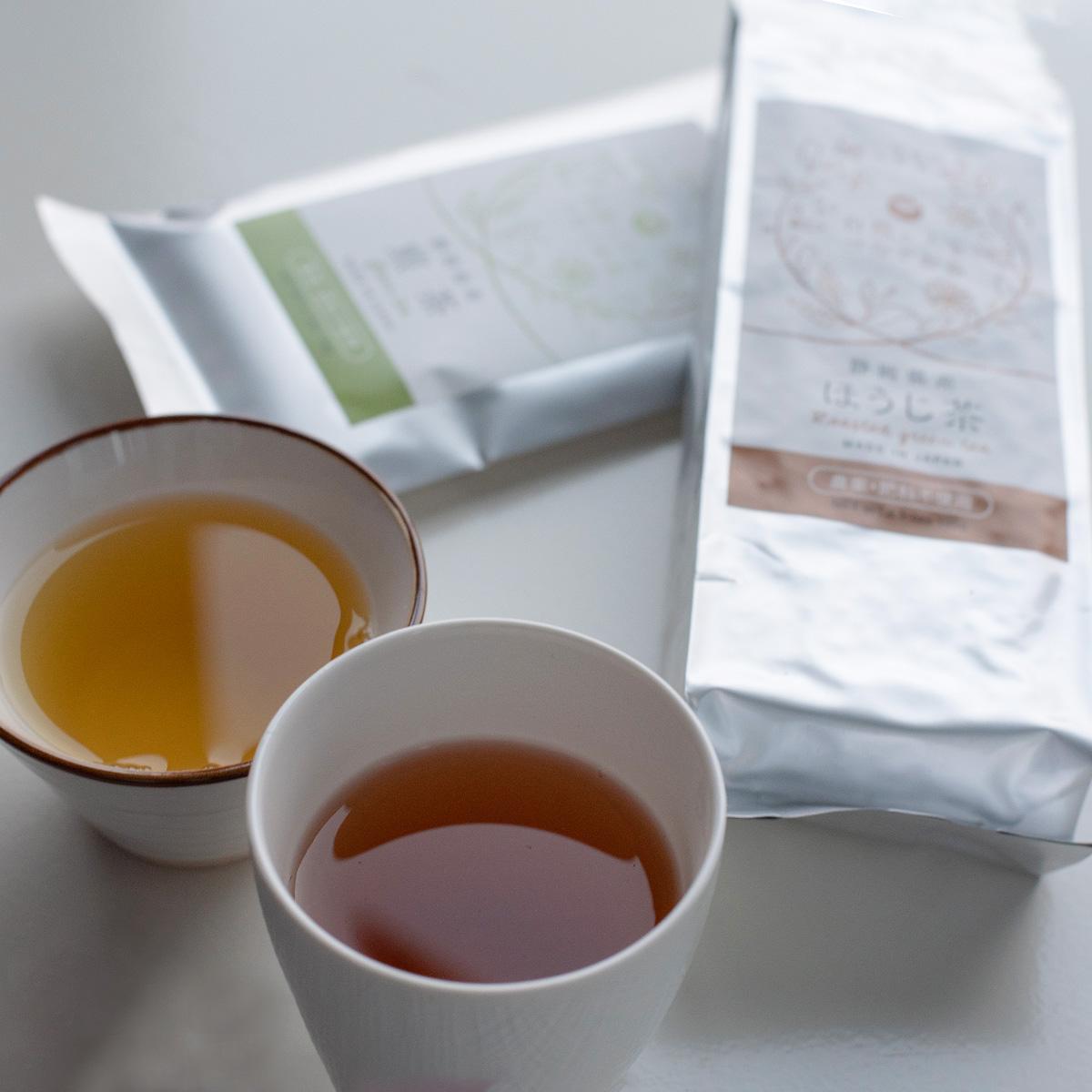 OrganicGarden 農薬・肥料不使用 自然と人をつなぐお茶 自然栽培お茶セット4種〔100g×3・70g×1〕