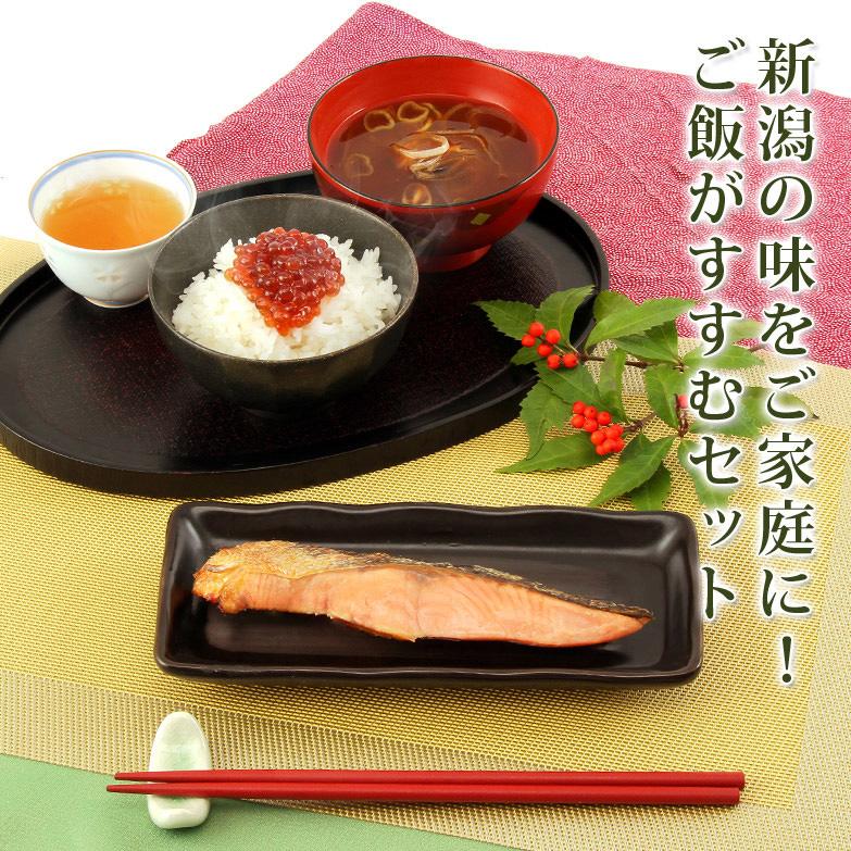 昔ながらの製法で新潟の味をお届け 塩引鮭とすじこ味噌漬セット 株式会社清起商店・新潟県