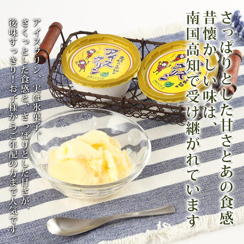 土佐の伝統製法 高知の夏味〈 アイスクリンカップ 〉   有限会社さめうらフーズ・高知県