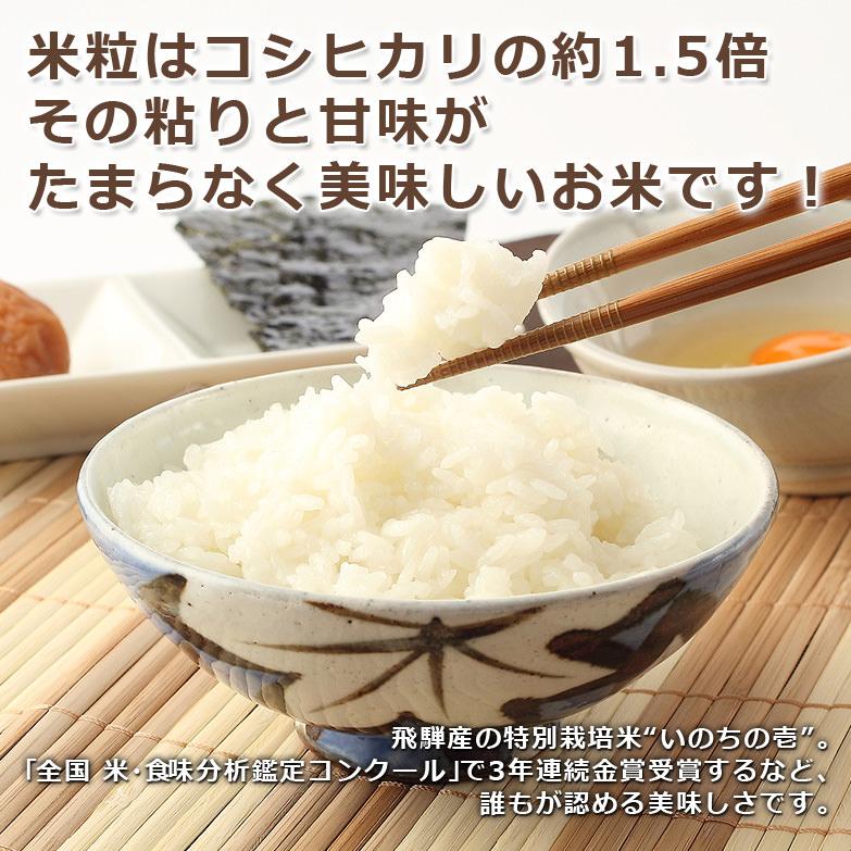 「銀」とは美しい白 磨き上げられた最高のお米 銀の朏 1kg | 合同会社まん丸屋・岐阜県