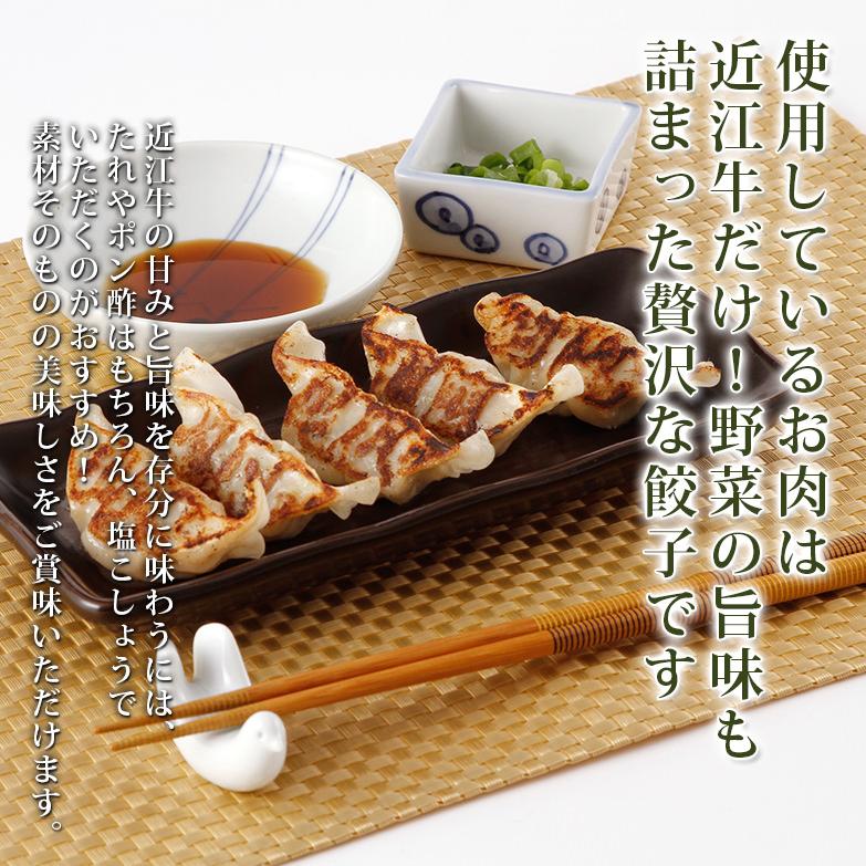 お肉は近江牛だけを使用! 贅沢にいただく近江牛餃子 15個入り×3箱 しゅうぼう本舗・滋賀県