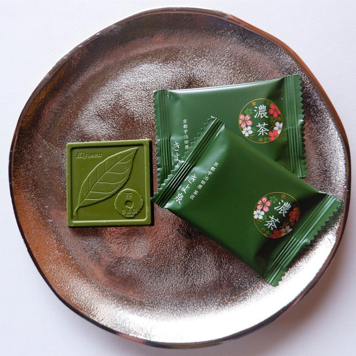 宇治抹茶チョコレート50枚入り