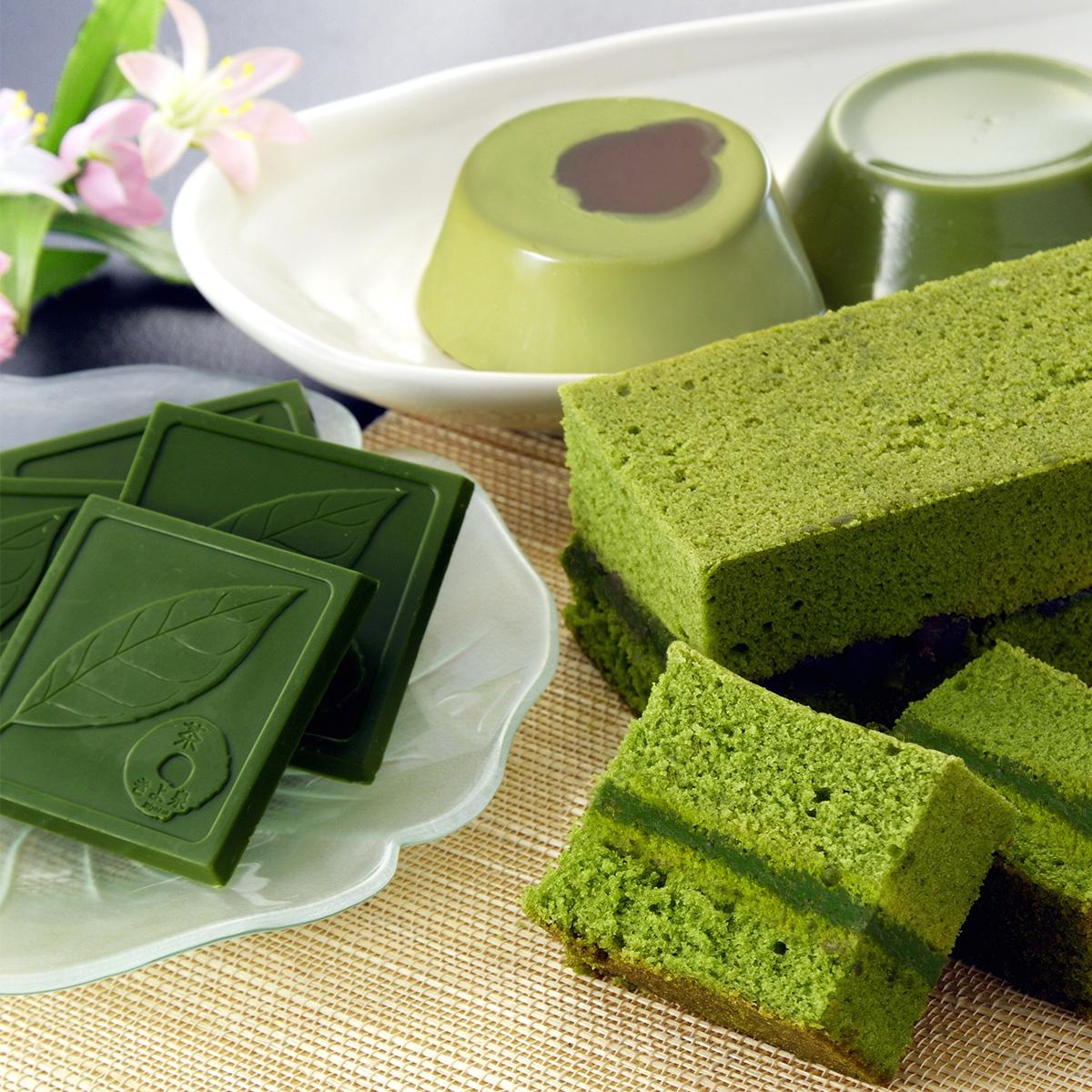 京都の本格抹茶をふんだんに使った 抹茶スイーツEXN
