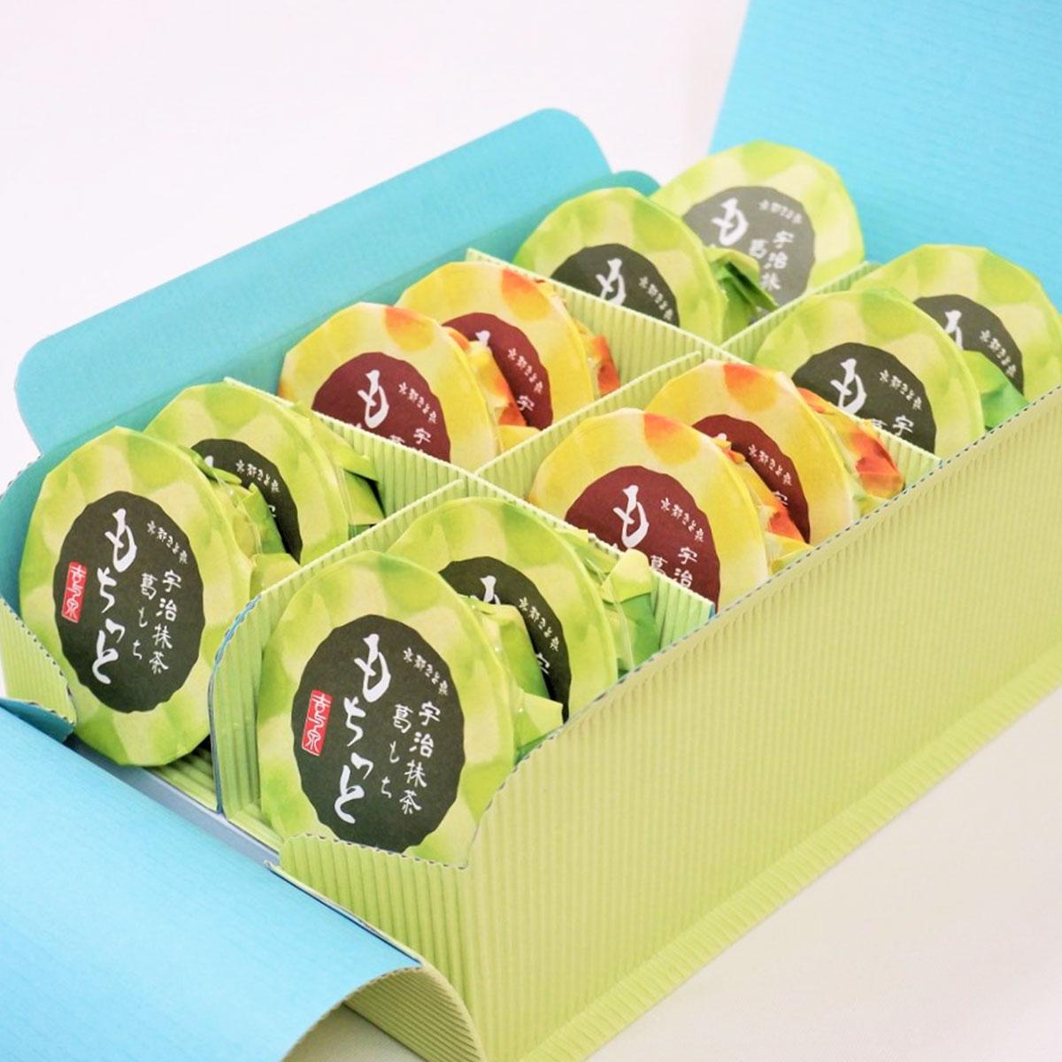 巨泉 京都きよ泉のくず餅セット〔抹茶くずもち67g×8・ほうじ茶くずもち67g×4〕