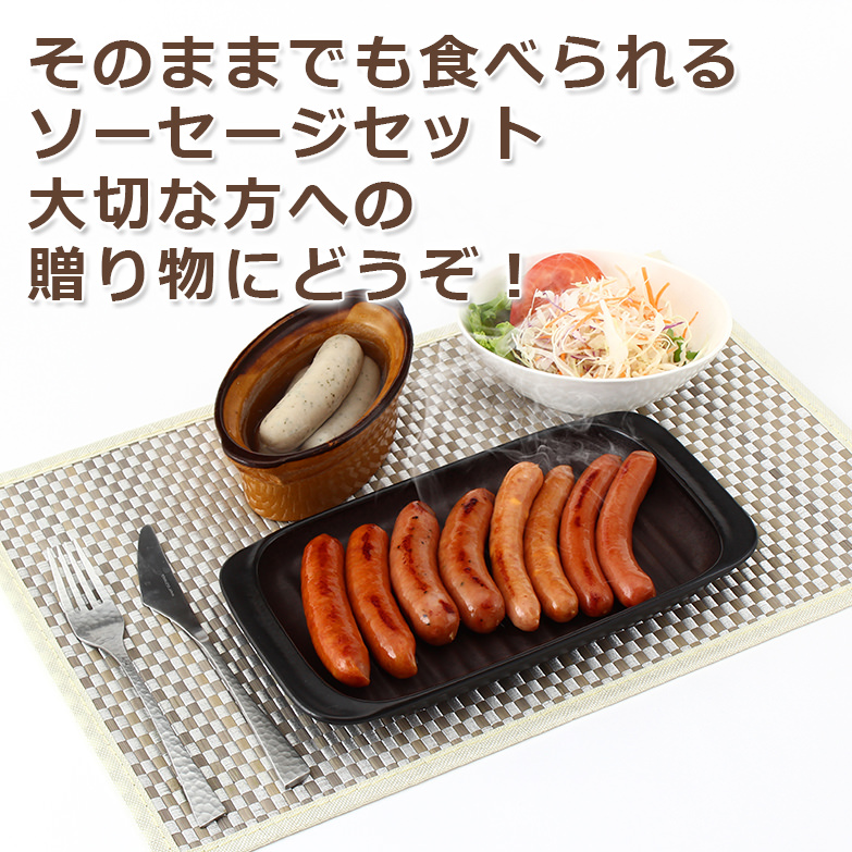 ドイツ直送のスパイスを使用 腸詰ソーセージ6種類セット