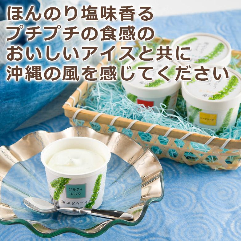 沖縄の大自然の恵みを大切に育んだ 海ぶどうアイス 6個セット