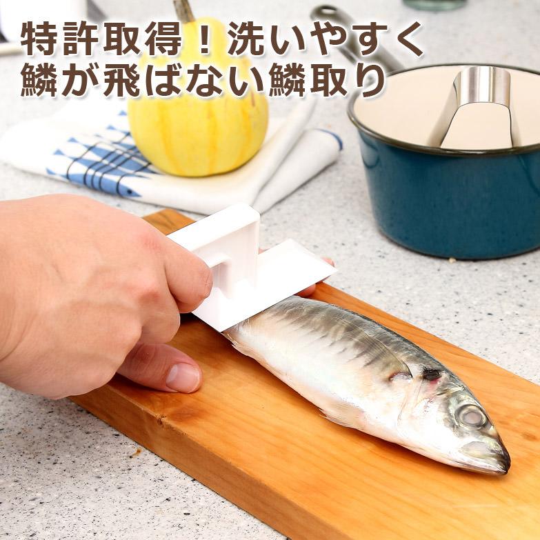 日本初、特許取得 ウロコ取り(小)