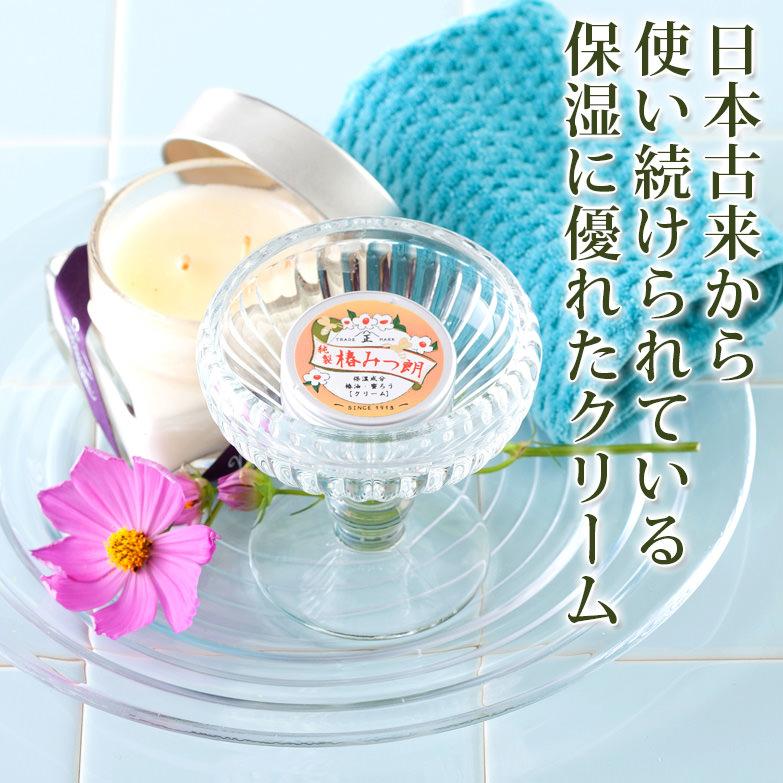 国産椿油と希少な日本ミツバチの蜜蝋で つくった 椿みつ朗(プレーン) (株)タナカ・福井県