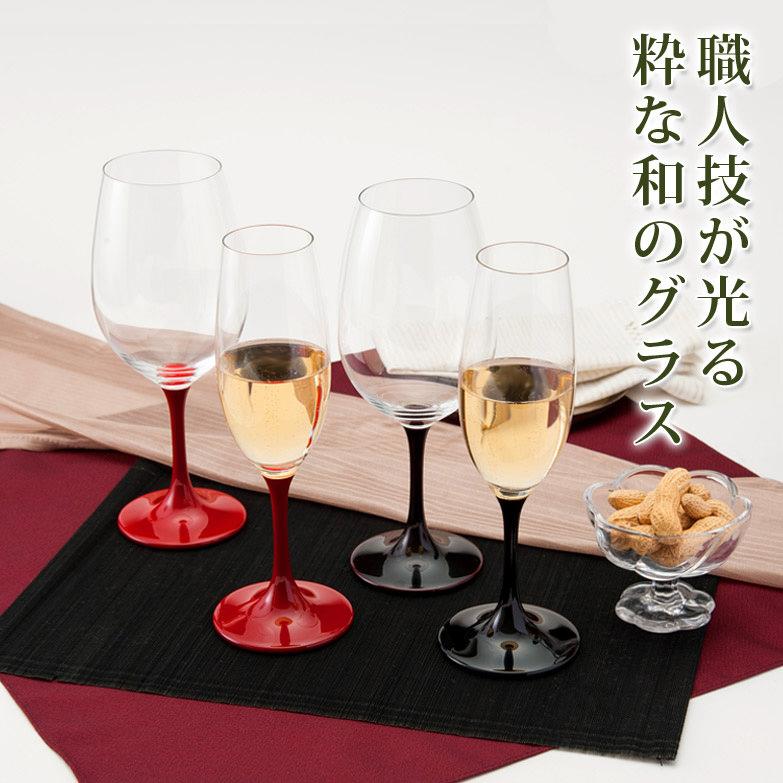 JAPAN Glass(黒漆/朱漆/溜漆)各SML 山久漆工(株)・福井県