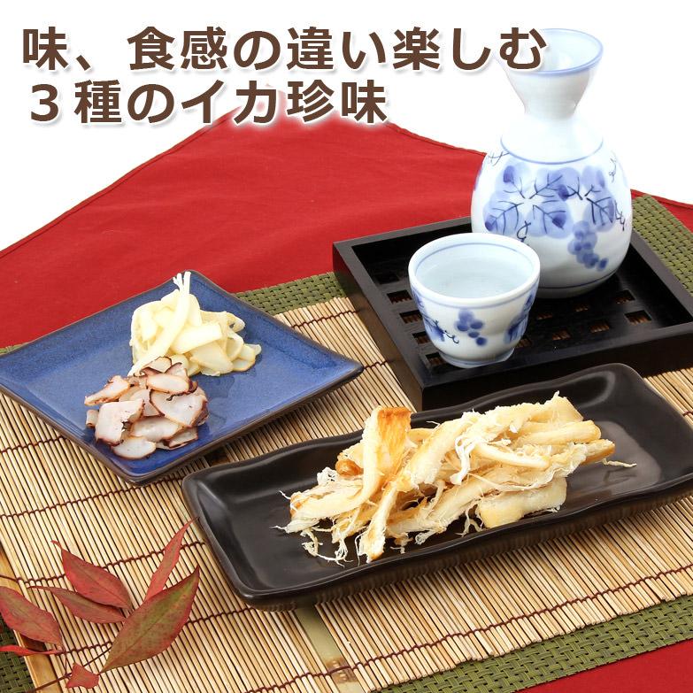 いか珍味セット サンスイ食品株式会社・北海道