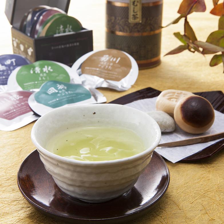 静五咲・ふくよ香詰合せ 有限会社石田茶店 静岡県 日本茶インストラクターが確かな目利きで選別する製茶問屋のセット。