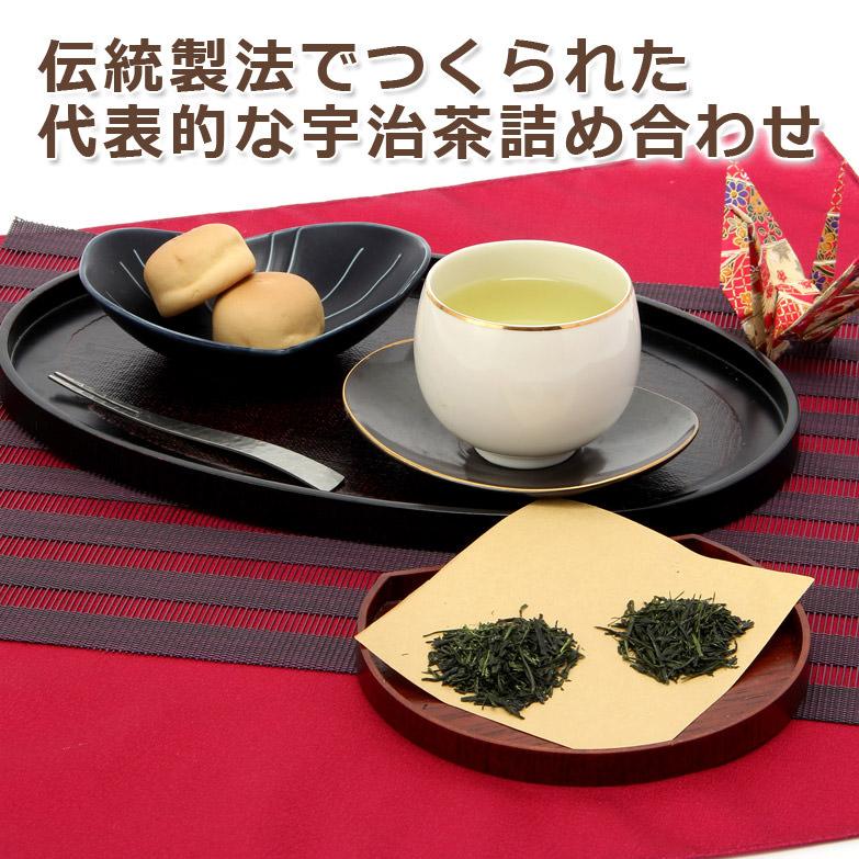 芳醇な宇治茶で心和むひとときを  宇治銘茶詰合せ HG−30