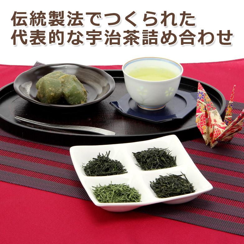 芳醇な宇治茶で心和むひとときを  宇治銘茶詰合せ HGS−504