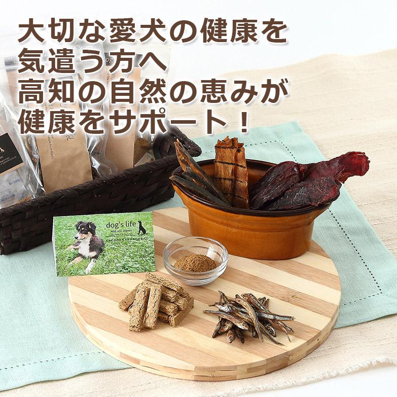 高知県産天然オーガニック素材で 丁寧に手作りした 犬のおやつ 「高知の自然の恵み 詰め合わせセット」