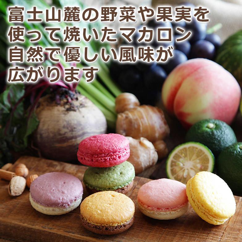 富士山の野菜で焼き上げました 223(ふじさん)マカロン 6個セット