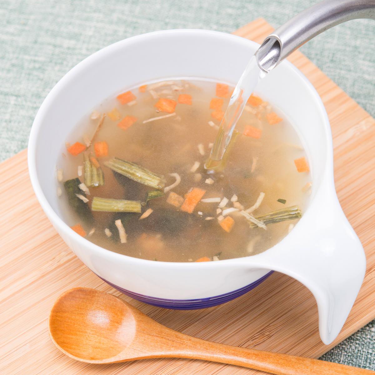 福山酢醸造 黒酢と生姜のスープ〔5.8g×20〕