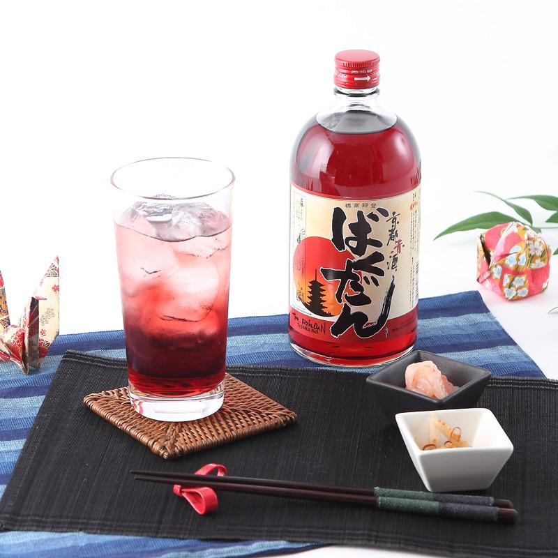 京都赤酒ばくだん720mlケース販売〔6本〕