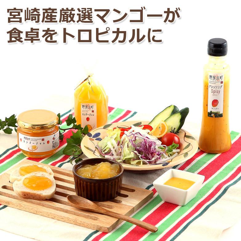 マンゴージャム、ドレッシング、ジュレ 宮崎のマンゴーセット