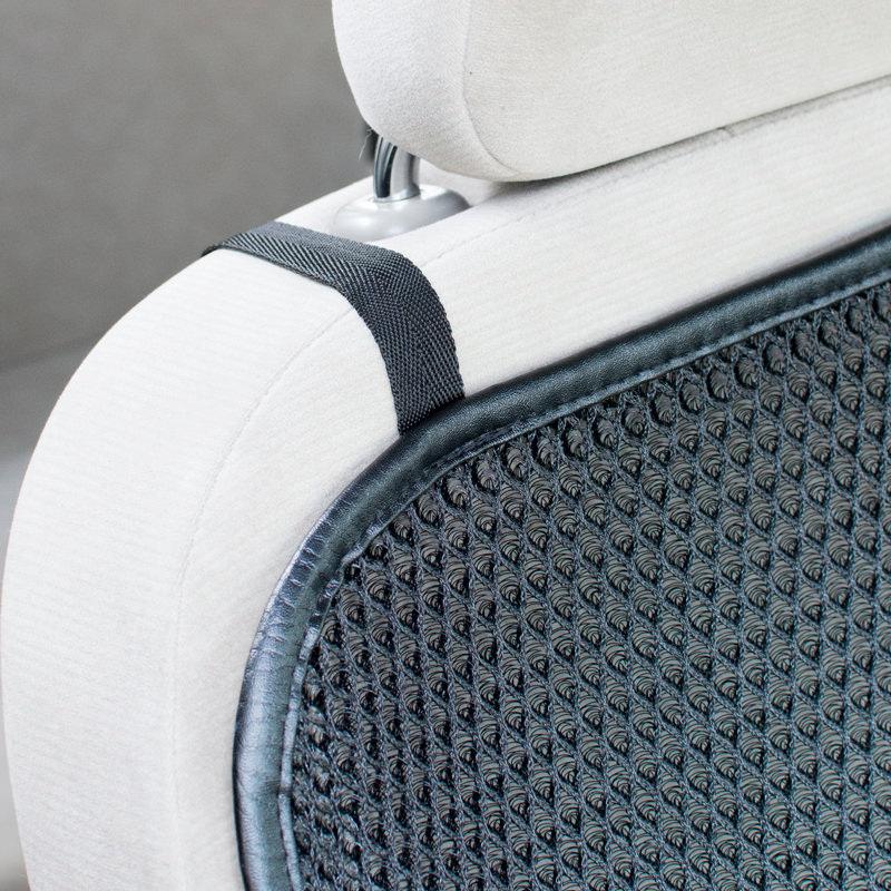 ヒロオカ 自動車座席 クールメッシュ カーシートカバー〔横幅430×長さ1030×厚み10mm〕
