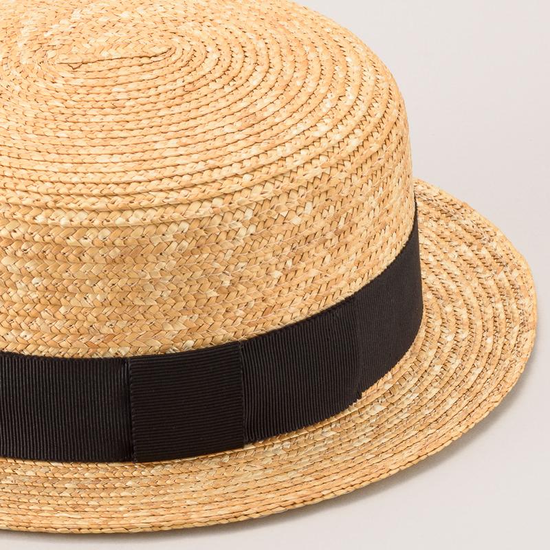 麦わら帽子 子ども用カンカン帽