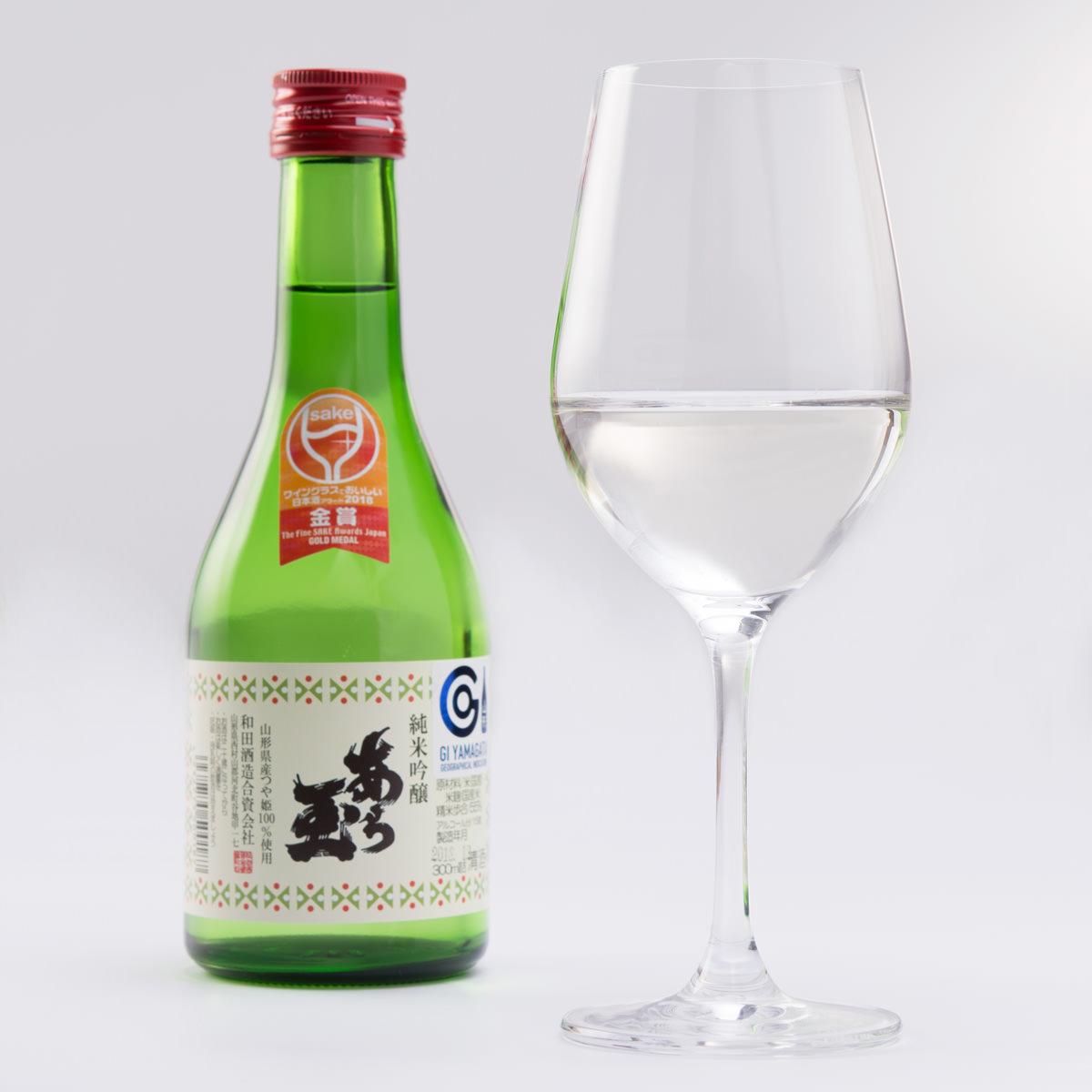 和田酒造 あら玉 ふるさとセット〔つや姫 純米吟醸 あら玉300ml×3・出羽燦々 純米吟醸 あら玉300ml×2〕 [純米吟醸]