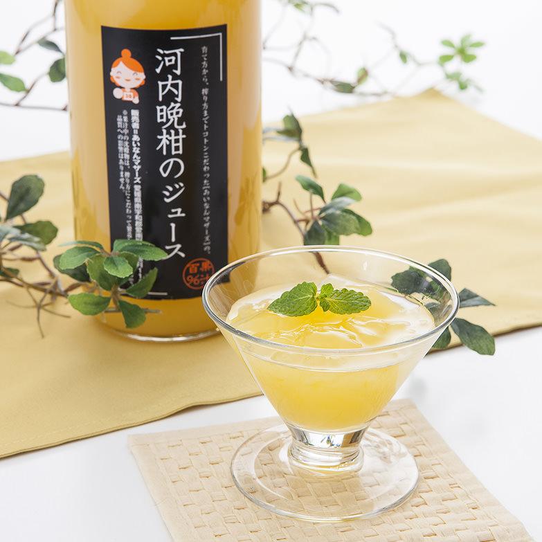 河内晩柑ジュレとジュース 株式会社あいなんマザーズ 愛媛県 越冬栽培で育てられた稀少な柑橘のおいしさ満喫セット