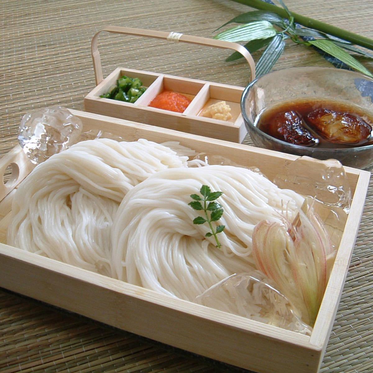 手延べ三輪素麺 玉井製麺所 うまさの証 鳥居印 ほんまもんの三輪素麺 M-40 1.5kg木箱〔1500g〕