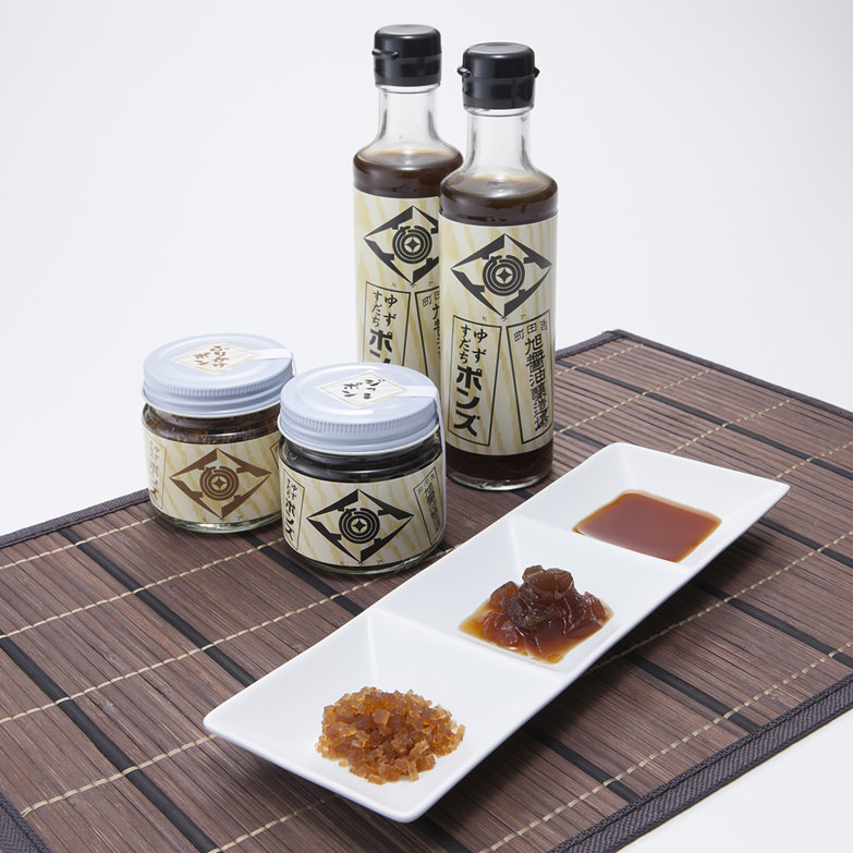 ポン酢セット 旭合名会社 愛媛県 ふりかけ・ジュレ・液体タイプの3種を食べ比べできるポン酢三昧セット
