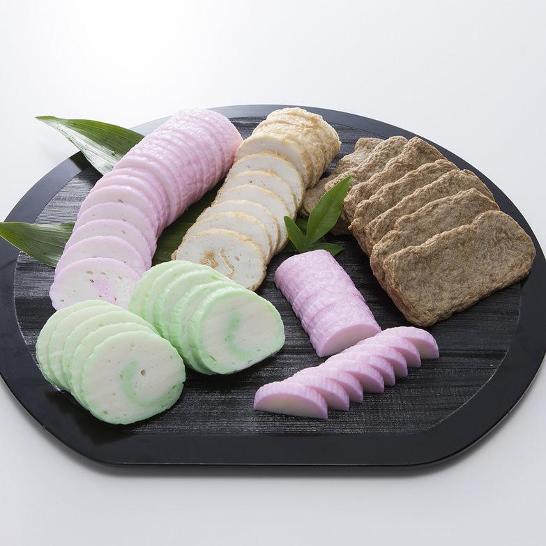 Aセット 大山蒲鉾店 愛媛県 おせち料理に最適。宇和海で獲れたて新鮮な子魚を使用したかまぼこ、じゃこ天のセット
