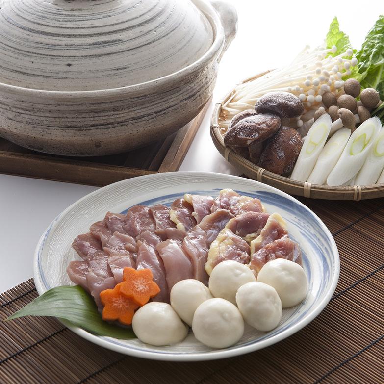 きじ鍋セット 鬼北きじ工房 愛媛県 コクのある旨みと口当たりの良さが自慢の「鬼北のきじ」を手軽に楽しめる肉とスープ、だんごのセット